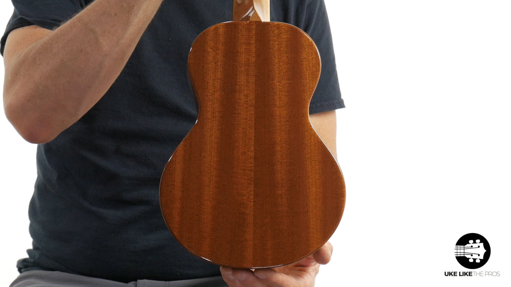 "Rebel Double Cheese Concert Ukulele Solid Spruce Top and Mahogany ""Soar"""