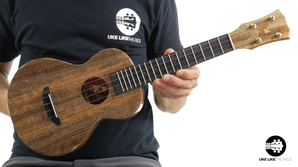 "Rebel Double Creme Concert Ukulele Solid Mango ""Galaxy"""