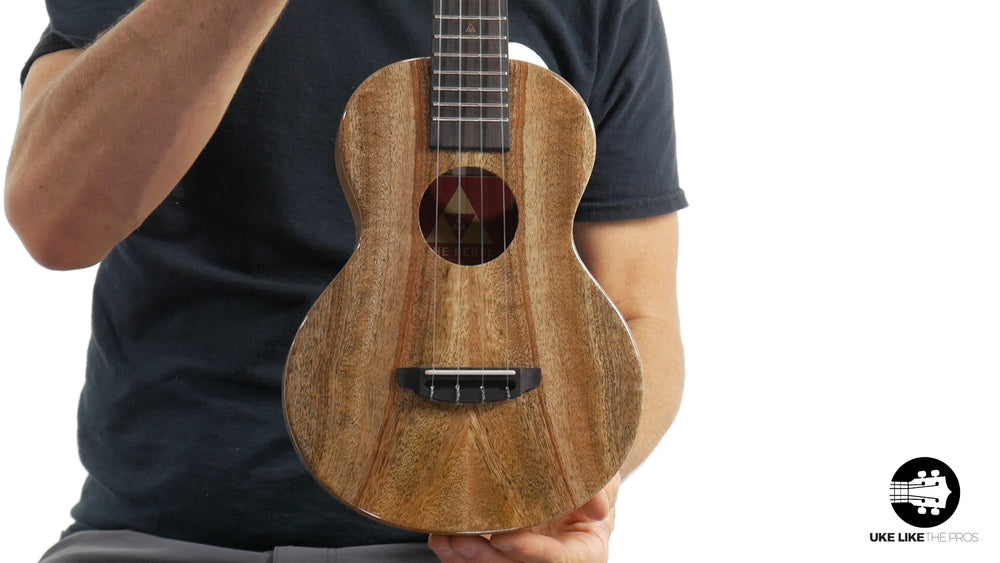 "Rebel Double Creme Concert Ukulele Solid Mango ""Star Lord"""