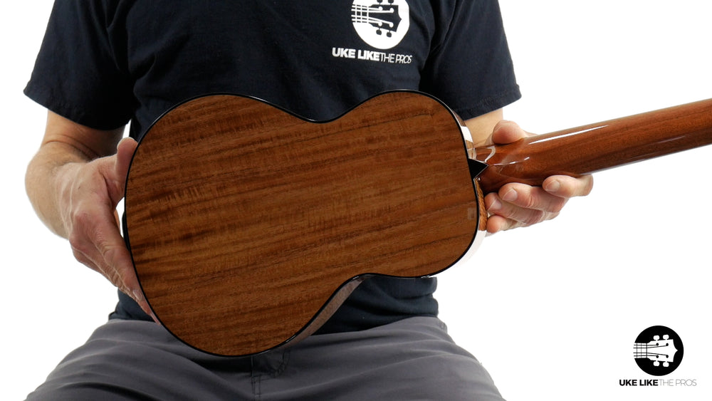 "Rebel Pluto Tenor Ukulele Solid Spruce Top and Curly Acacia ""Sathorn"""