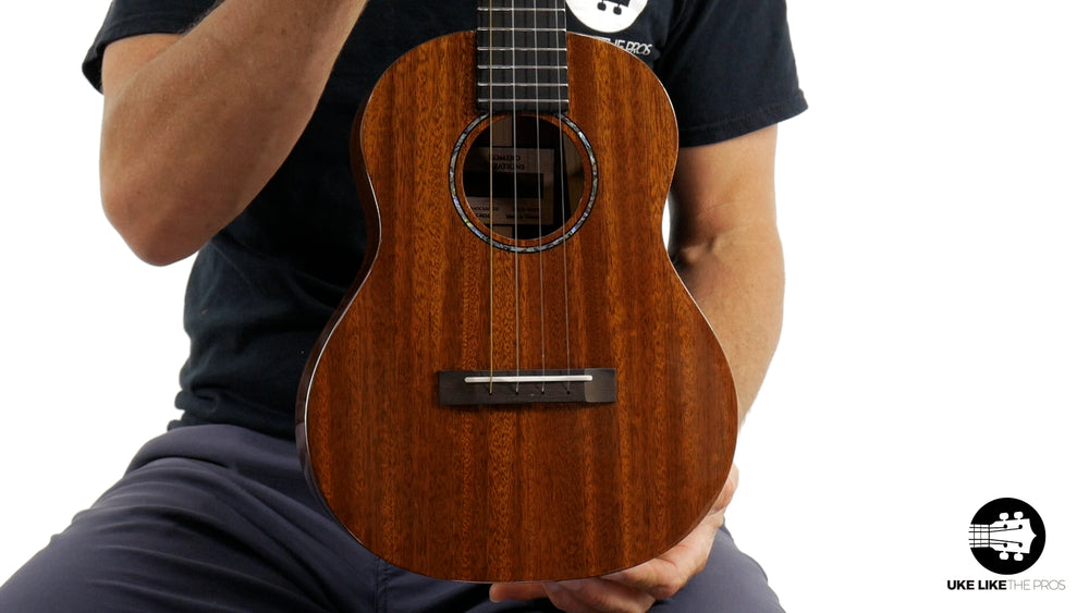"Romero Creations Grand Tenor Mahogany Ukulele RC-GT-M ""Taco Tuesday"""
