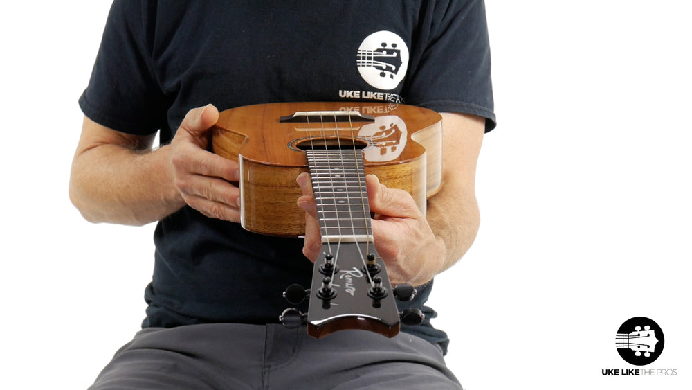 "Romero Creations RC-GT-K Grand Tenor Ukulele Koa ""Cookie Jar"""