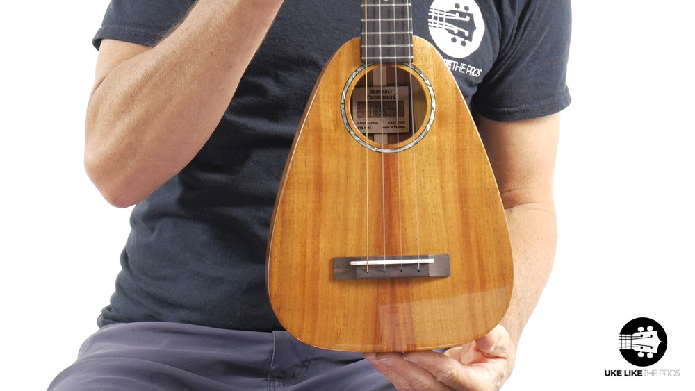 "Romero Creations Tiny Tenor Ukulele Koa RC-TT-K ""The Prize"""