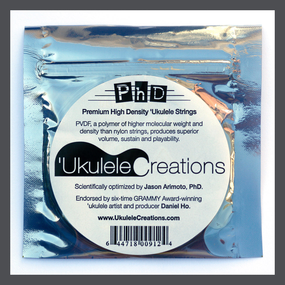 PhD Soprano/Concert Ukulele Strings G-C-E-A with LOW G