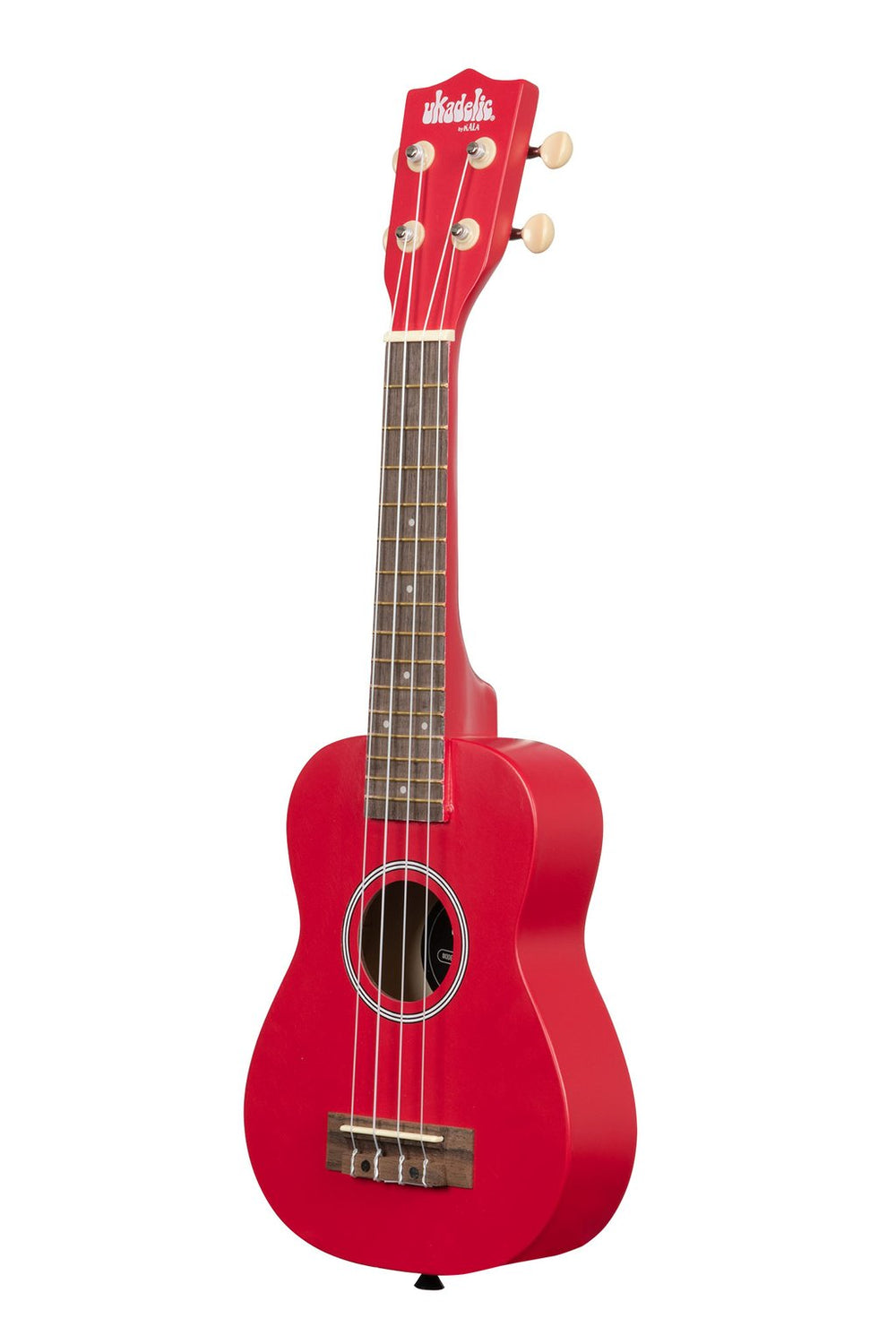 KALA Ukadelic Cherry Bomb Soprano Ukulele Pack with Tote Bag UK-CHERRYBOMB