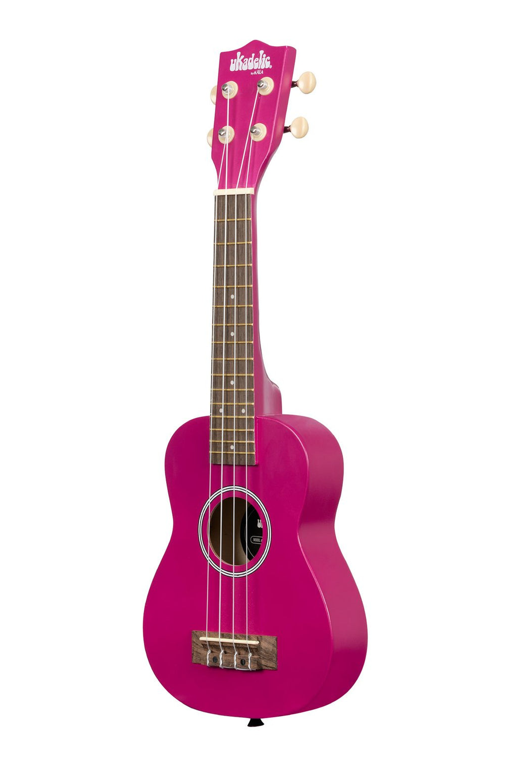 KALA Ukadelic Dragon Fruit Soprano Ukulele Pack with Tote Bag UK-DRAGONFRUIT