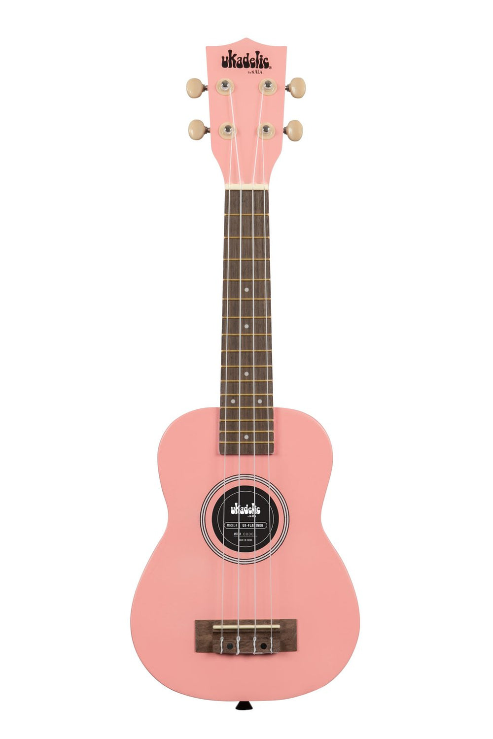 KALA Ukadelic Flamingo Soprano Ukulele Pack with Tote Bag UK-FLAMINGO