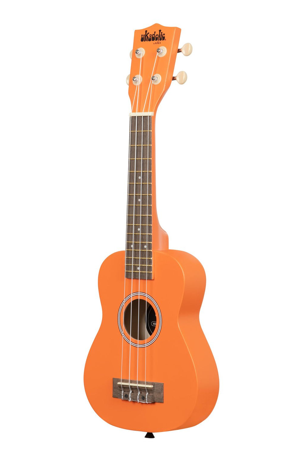 KALA Ukadelic Orange Marmalade Soprano Ukulele Pack with Tote Bag UK-MARMALADE