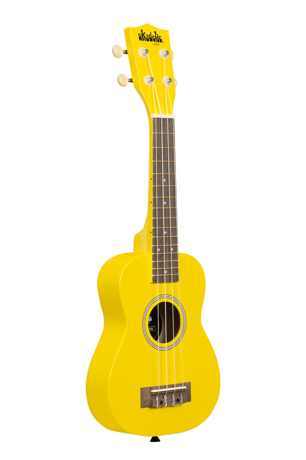 KALA Ukadelic Taxicab Yellow Soprano Ukulele Pack with Tote Bag UK-TAXICAB