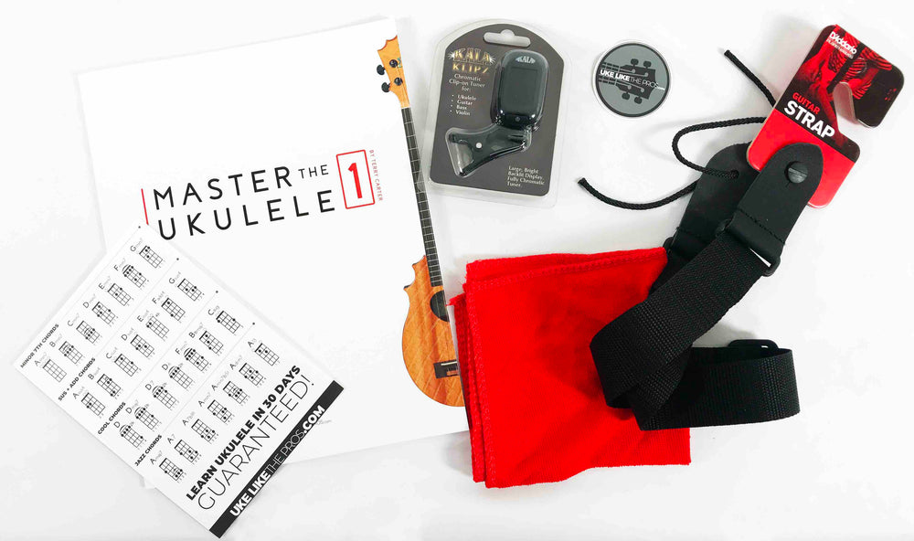 Ukulele Pro Accessory Pack Special #1 ONLY $25