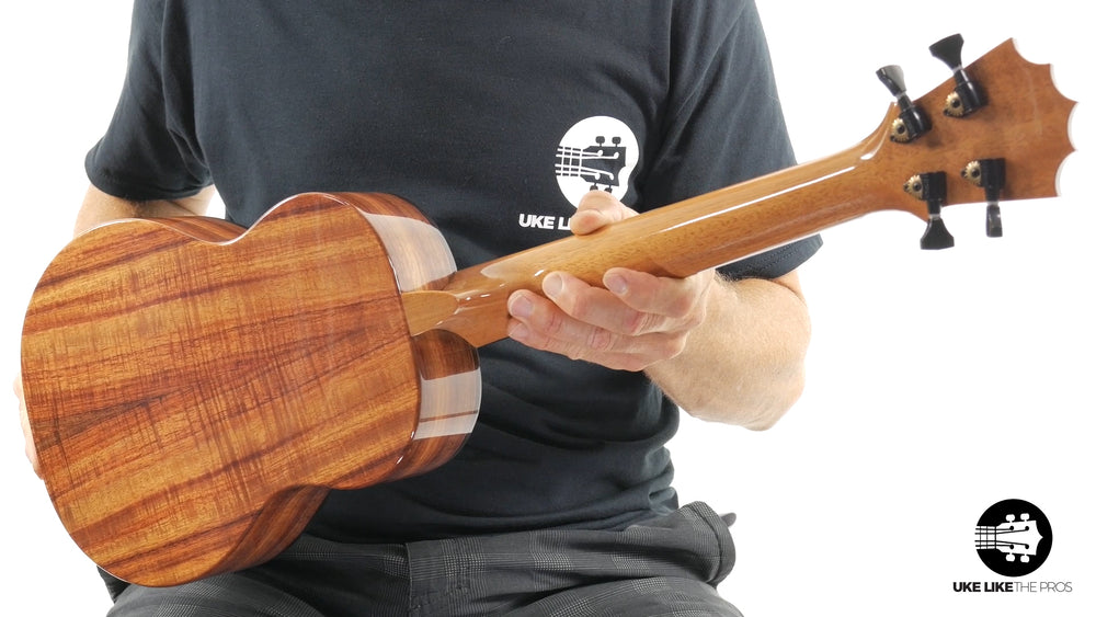 "KoAloha Red Label Tenor Ukulele Solid Spruce/Koa ""Bear Claw"""
