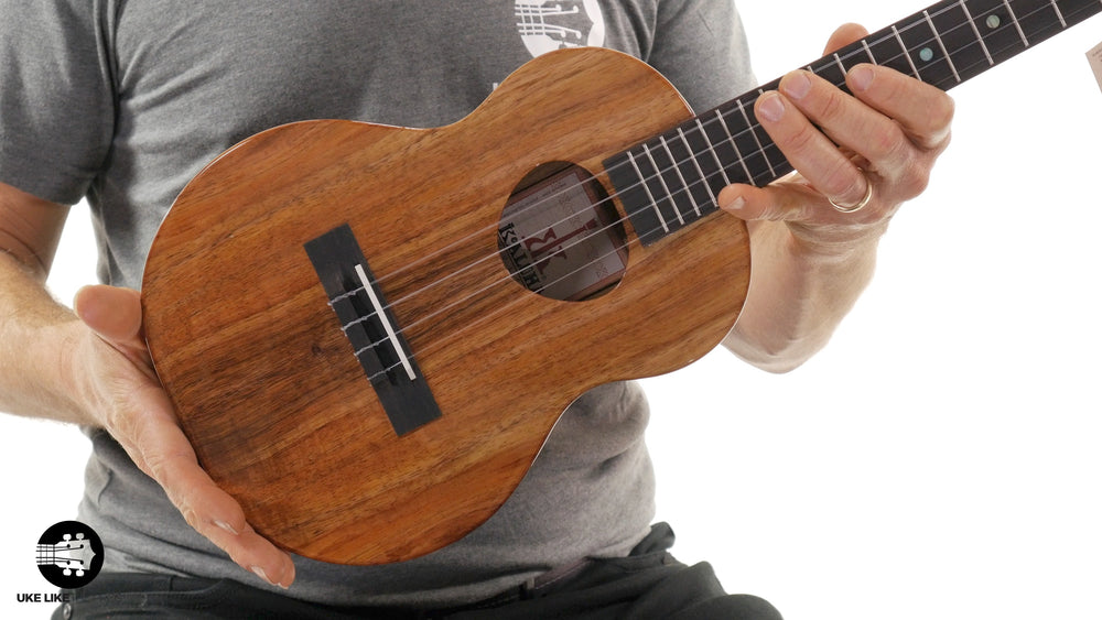 "KoAloha Tenor Ukulele Koa (KTM-00) ""Big Wave"""