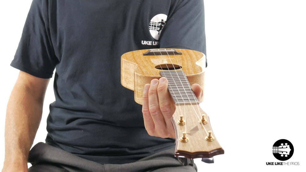 "Rebel Double Creme Soprano Ukulele Mango ""Little Giant"""