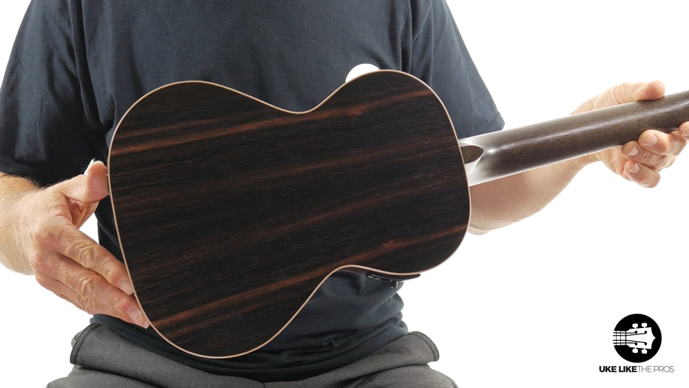 "Kala Striped Ebony Tenor w/ EQ KA-EBY-TE ""Persephone"""