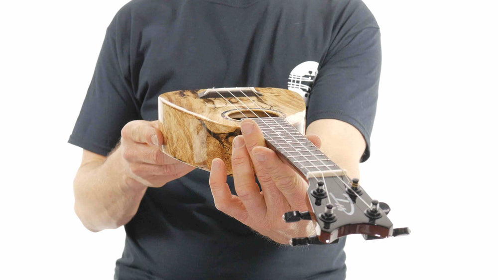 "Romero Creations XS Soprano Ukulele Spalted Mango RC-XS-MG ""Granite"" SPECIAL"