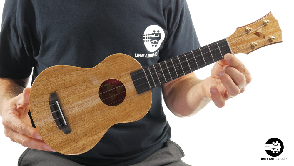 "Rebel Double Creme Soprano Ukulele Mango ""Mighty Max"""