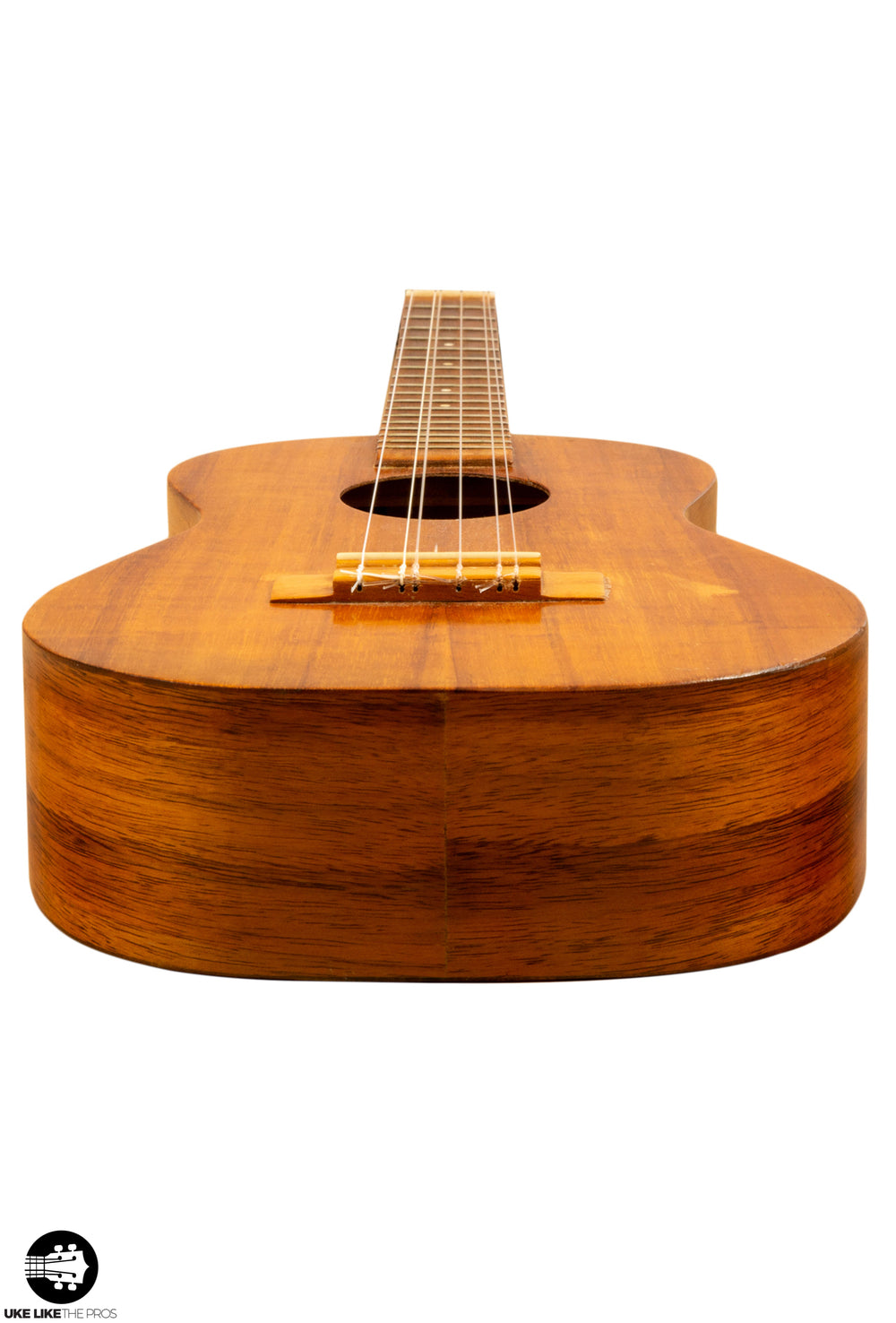 "Kamaka Vintage 1972 Tenor 6 String Ukulele Koa ""Tikki"" For Charity"