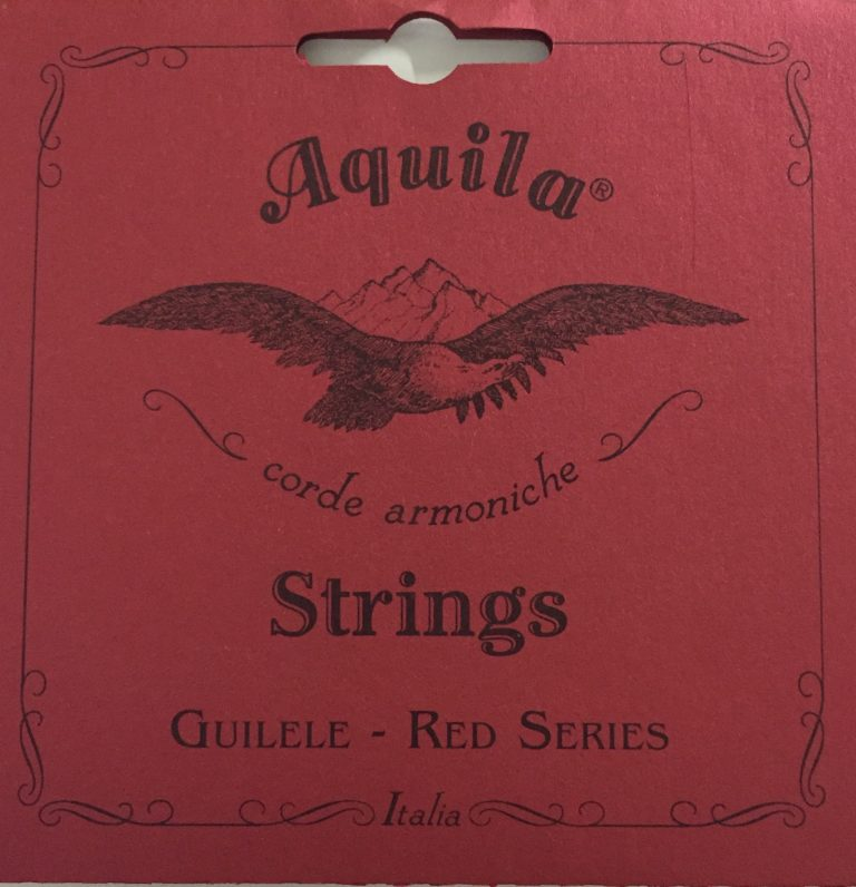 Aquila 153C RED SERIES Guitarlele Strings E Tuning (E-A-D-G-B-E)