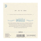 D'Addario Clear Nylon Ukulele Strings Tenor Low G (EJ65TLG)