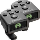 D'Addario Micro Headstock Clip On Tuner for Ukulele (2 Pack) PW-CT-12TP