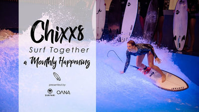 ABSAGE: Chixxs Surf Together – A Monthly Happening at OANA