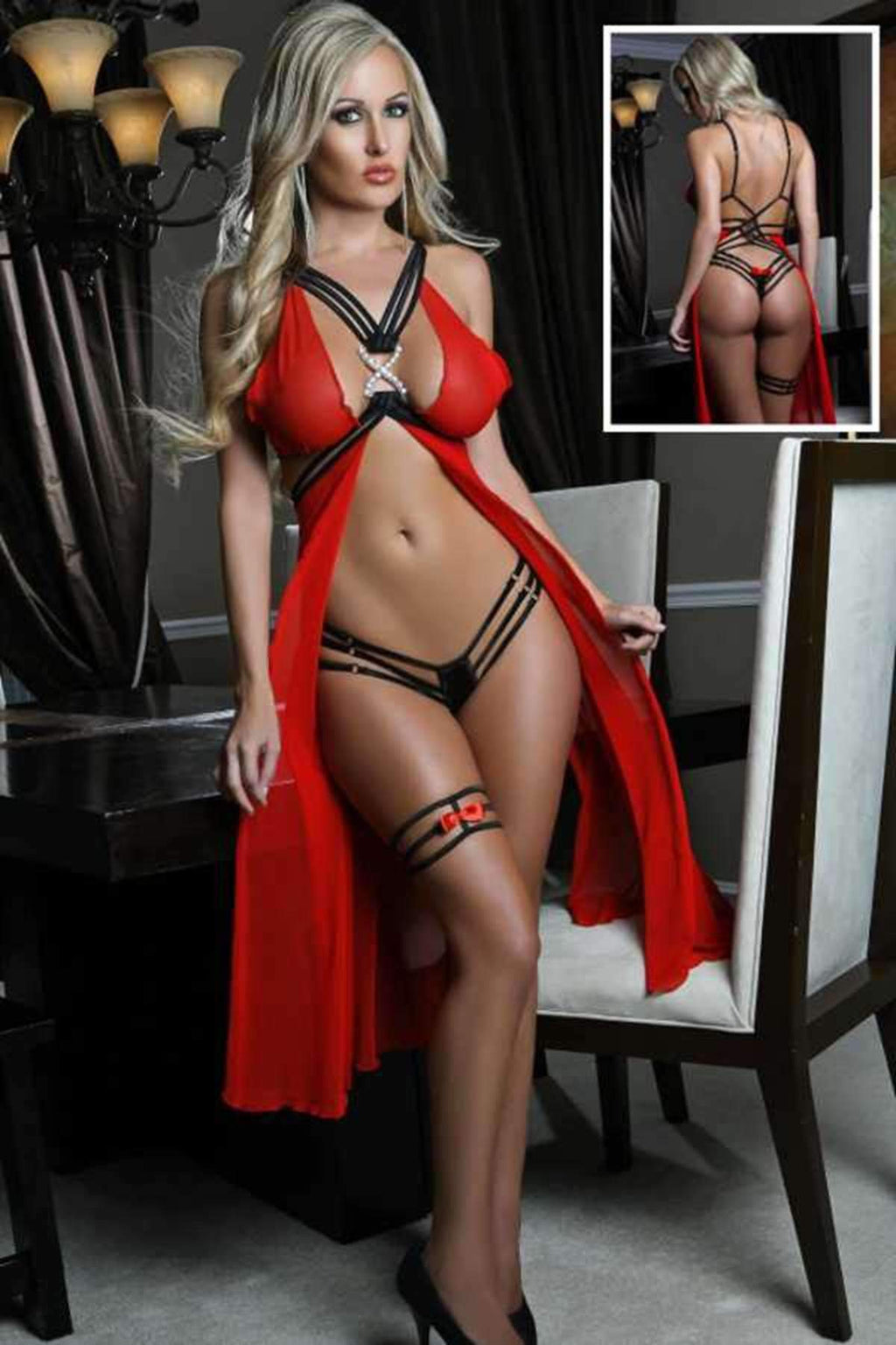 Dreams Sexy Babydoll Suit Leg Banded | Sexy Outfits, Sexy Gowns, Sex Toys For Women, Sex Toys, Adult Toys | My Sex Shop
