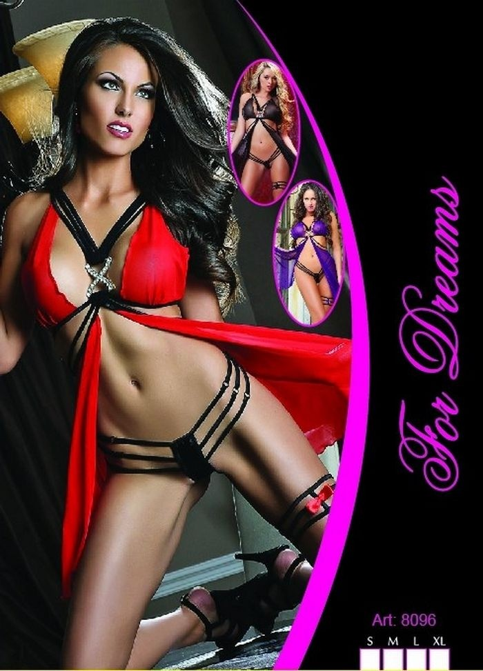 Dreams Sexy Babydoll Suit Leg Banded