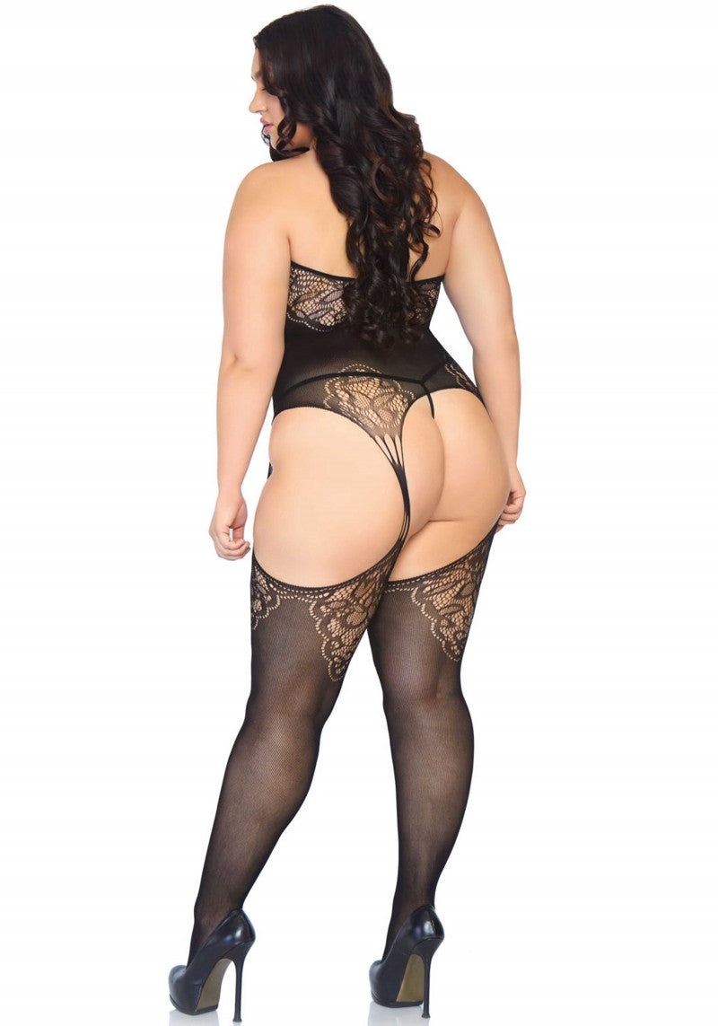 Leg Avenue | Lace Suspender Bodystocking
