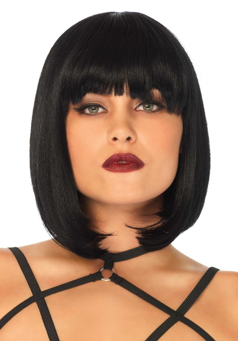 Short Natural Bob Wig | Black