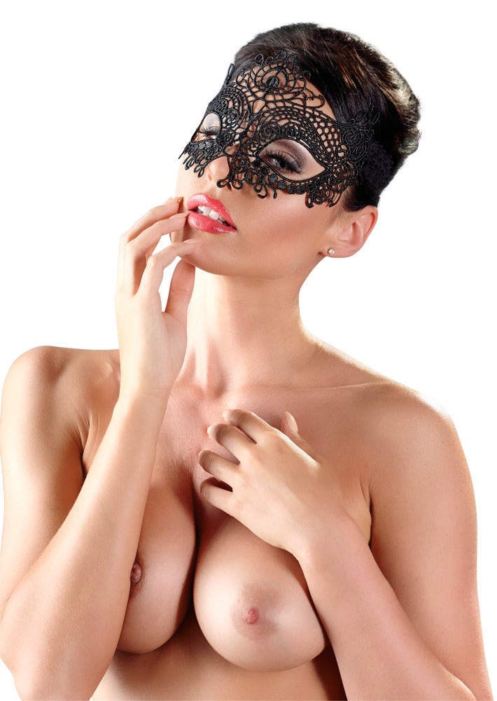 Embroidered Mask | Sex Masks, Sex Toys, Adult Toys | My Sex Shop