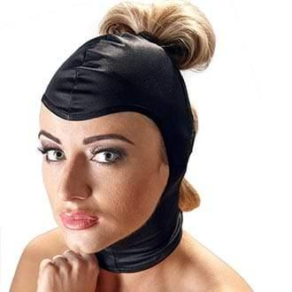 Bad Kitty Ponytail Mask