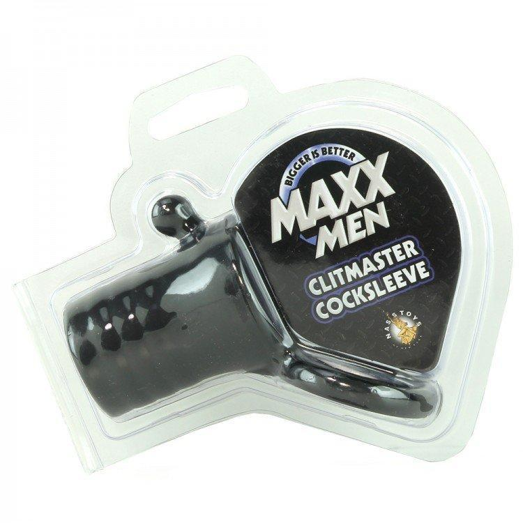 Maxx Men Cock Enhancement Sleeve & Ring Black | Cock Ring, Sexy Toys for Men, Sex Toys, Adult Toys | My Sex Shop