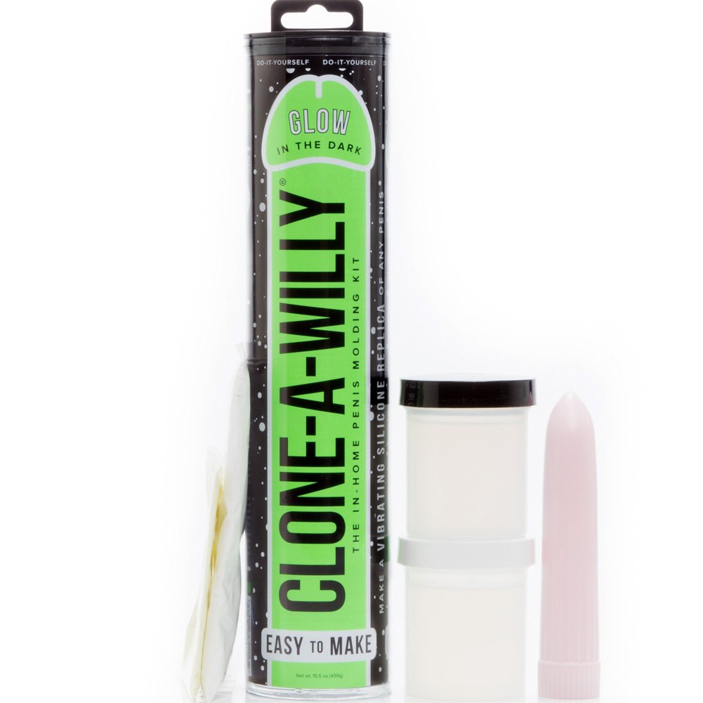Clone-A-Willy Glow In The Dark Green