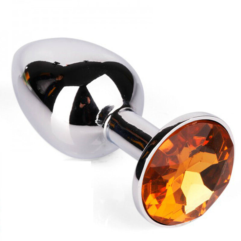 Orange  Jeweled Butt Plug MEDIUM | Anal Toys, Ladies Sex Toys, Sex Toys For Women, Sex Toys, Adult Toys | My Sex Shop
