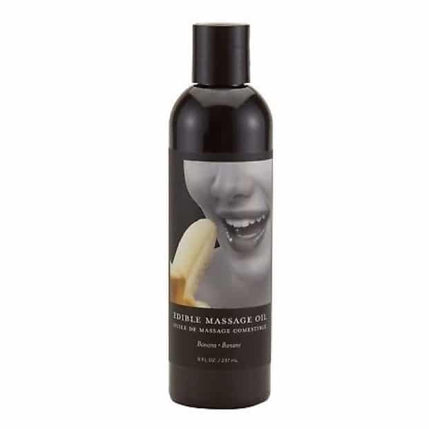Edible Massage Oil 60ml Banana, completely natural ingredients Vegan | Massage Oil, Suckable Oil, Sex Toys, Adult Toys | My Sex Shop