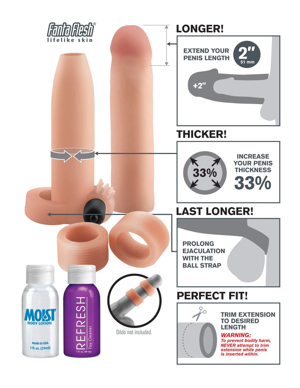 Fantasy X-tensions Ultimate Enhancement Kit | Penis Extention, Sexy Toys for Men, Sex Toys, Adult Toys | My Sex Shop