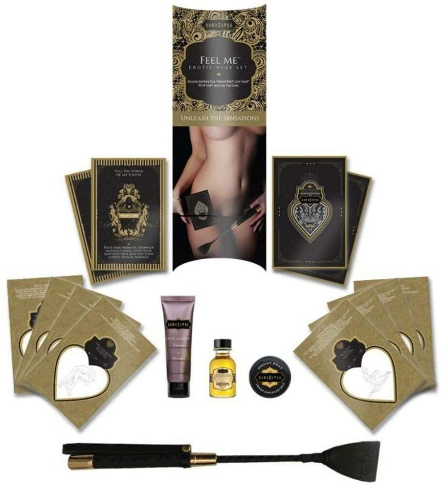 "5 Piece Erotic BDSM Playset - ""Feel Me"" - by Kama Sutra"