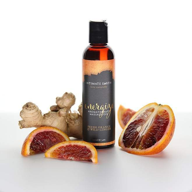 Energize Orange Wild Ginger Massage Oil 240ml, PURE VEGAN | Massage Oil, Oral Sex, Sex Toys, Adult Toys | My Sex Shop