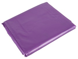Purple vinyl bed sheet 200 x 230