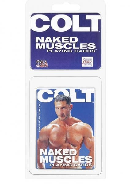 Colt Naked Muscles Cards