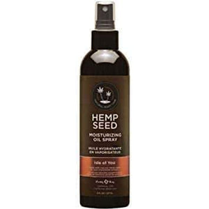 Hemp Seed Moisturising Oil Spray 237ml in Isle of You, coconut, citrus & vanilla, 100% Vegan | Better Sex, Sex Enhancement, Climax Delay, Sex Toys, Adult Toys | My Sex Shop