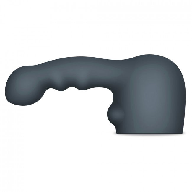 Le Wand Ripple Weighted Silicone Attachment Grey