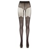 Cottelli lace tights-crotch less