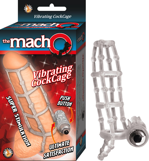 THE MACHO VIBRATING COCKCAGE-C