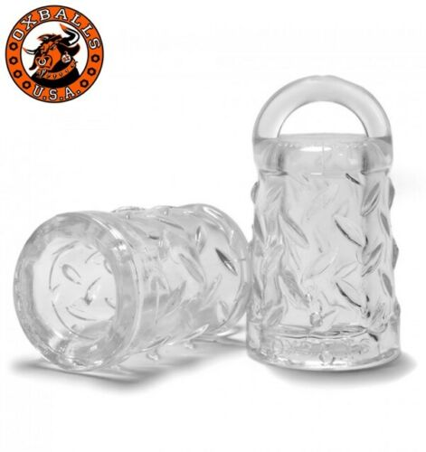 Oxballs Gripper Nip-Suckers | Clear