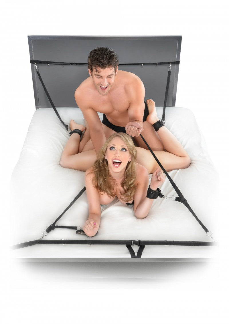 Black Ultimate Bed Restraint System