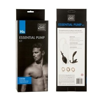 His Essential Pump Kit | Sex Toys For Men, Sex Toys, Adult Toys | My Sex Shop