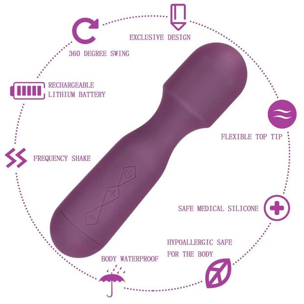 Come Closer Clitoral Massager, Powerful, Flex & Bendable Head , Waterproof, USB
