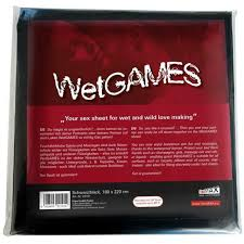 Wetgames Sex Sheet 180X220