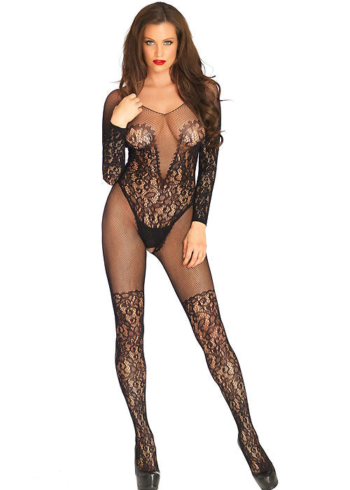 Vine Lace And Net Bodystocking | Sexy Outfits, Sexy Lingerie, Sex Toys For Women, Sex Toys, Adult Toys | My Sex Shop